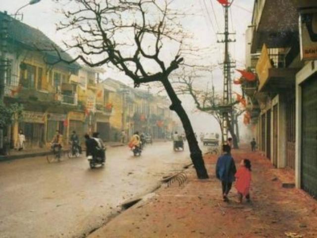 Dny nového lunárního roku na ulici Khâm Thiên