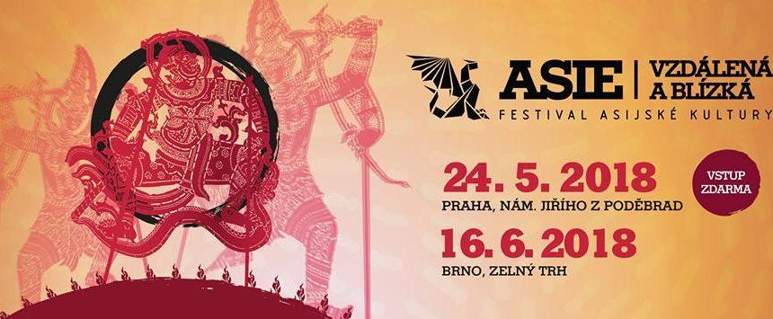Festival Asie vzdálená a blízka v Brně dne 16/6/2018 na Zelňáku!